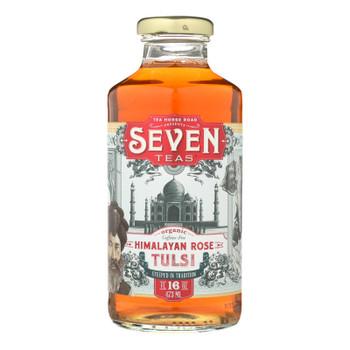 Seven Teas Tea Himalayan Rose Tulsi  - Case Of 12 - 16 Fz
