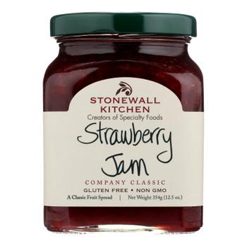 Stonewall Kitchen Strawberry Jam - Case Of 12 - 1.3 Oz