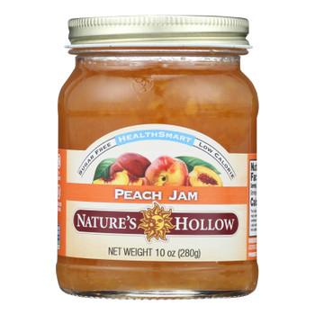 Nature's Hollow Sugar-free Peach Preserves  - Case Of 6 - 10 Oz