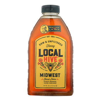 Local Hive - Honey Midwest - Case Of 6 - 40 Fz
