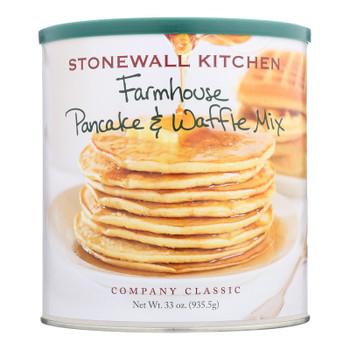 Stonewall Kitchen - Mix Pancake & Waffle Farmhouse - Case Of 6 - 33 Oz