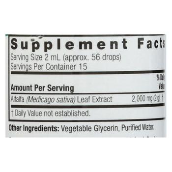 Nature's Answer - Alfalfa Herb - 1 Fl Oz