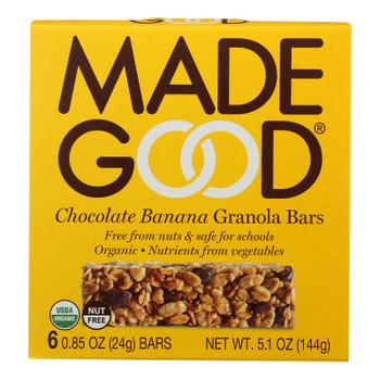Made Good Granola Bar - Chocolate Banana - Case Of 6 - 5 Oz.