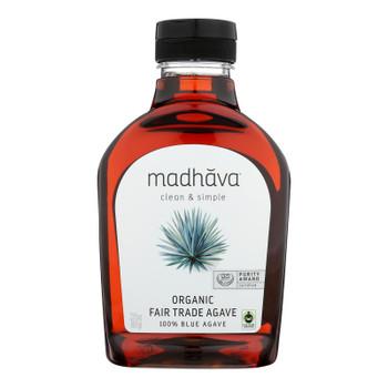 Madhava Honey Fair Trade Raw Agave - Case Of 6 - 23.5 Oz.