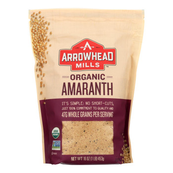 Arrowhead Mills - Whole Grain Amaranth - Case Of 6 - 16 Oz.
