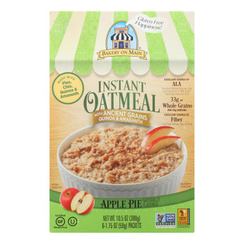 Bakery On Main Oatmeal Apple Pie - Case Of 6 - 10.5 Oz.