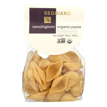 Seggiano Organic Conchiglioni Pasta  - Case Of 8 - 16 Oz