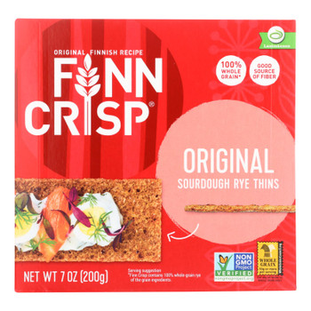 Finn Crisp Original - Whole Grain - Case Of 9 - 7 Oz.