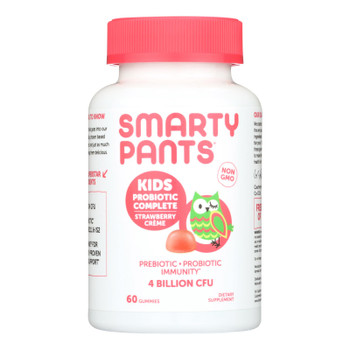 Smartypants Kids Probiotic - Straw Creme - 60 Count