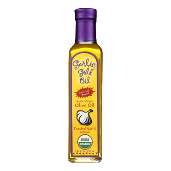Garlic Gold Extra Infused Pure Garlic Virgin Olive Oil  - Case Of 6 - 250 Ml