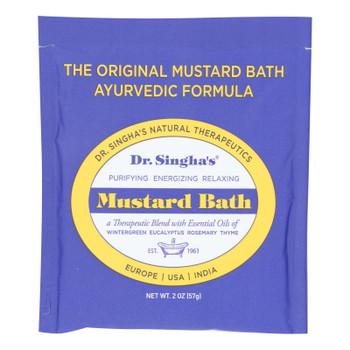 Dr. Singha's Mustard Bath  - Case Of 14 - 2 Oz