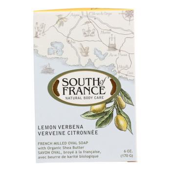 South Of France Bar Soap - Lemon Verbena - Full Size - 6 Oz
