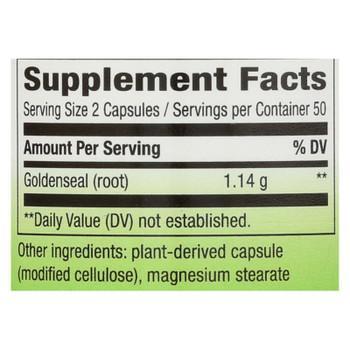 Nature's Way - Goldenseal Root - 100 Capsules