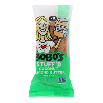Bobo's Oat Bars - Oat Bar - Coconut Almond Butter Filled - Case Of 12 - 2.5 Oz