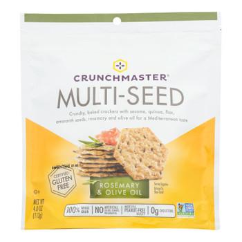 Crunchmaster - Multiseed Crckr Rsmry&olv - Case Of 12 - 4 Oz
