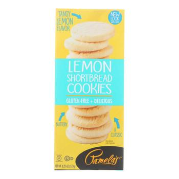 Pamela's Products - Cookies - Lemon Shortbread - Gluten-free - Case Of 6 - 6.25 Oz.