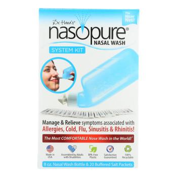 Dr. Hana's Nasopure Nasal Wash System Kit - 1 Each - 8 Oz