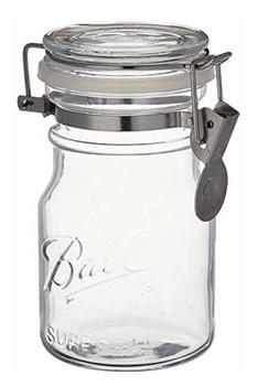 Ball Canning Jar - Wire Bale - Storage - Case Of 6 - 14 Oz