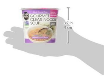 Crystal Noodle - Soup Caramelized Onion Non-GMO - Case Of 6 - 1.09 Oz