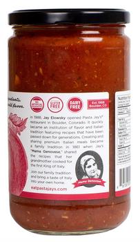 Pasta Jay's - Pasta Sauce Classic Marinara - Case Of 6 - 25 Oz