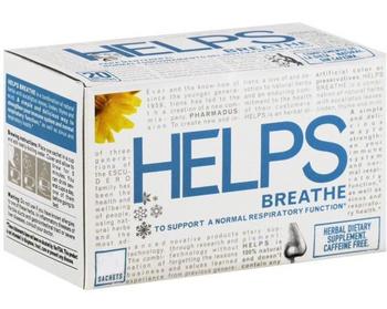 Helps Teas - Tea Helps Breathe - Case Of 4 - 16 Bag