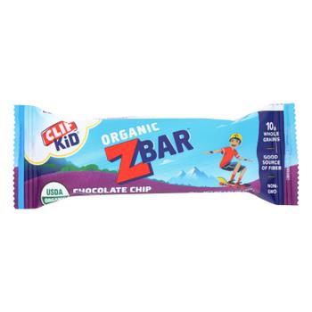 Clif Bar Zbar - Organic Chocolate Chip - Case Of 18 - 1.27 Oz