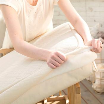 Naturepedic Organic Breathable Ultra Crib Protector Pad