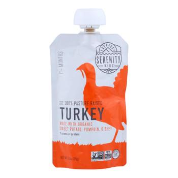 Serenity Kids Llc - Pouch Turkey Sweet Potato Pumpkin Beet - Case Of 6-3.5 Oz