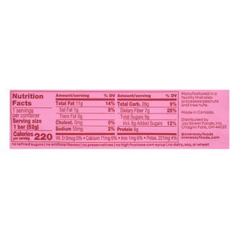 Over Easy - Breakfast Bar Apple Cinnamon - Case Of 12-1.8 Oz