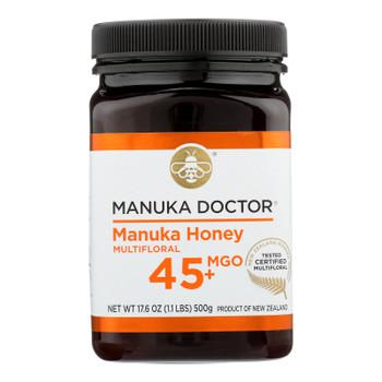 Manuka Doctor - Manuka Honey Mf Mgo45+ 500g - Case Of 6-17.6 Oz