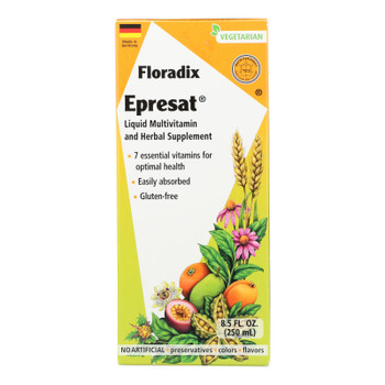 Floradix - Epresat Adult Multivitamin - 1 Each 1-8.5 Fz