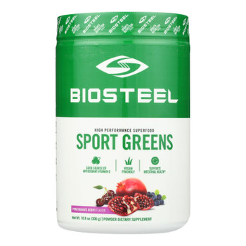 Biosteel - Superfood Greens Pomegranite Berry - 1 Each 1-10.8 Oz