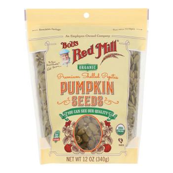 Bob's Red Mill - Seeds Organic Pumpkin - Case Of 4-12 Oz
