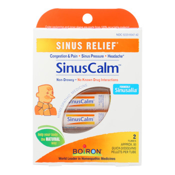 Boiron - Sinuscalm Pelletes Relief - 1 Each 1-2 Dose