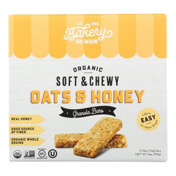 Bakery On Main - Granola Bar Oats/hny - Case Of 6-5/1.2 Oz