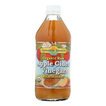 Dynamic Health Organic Apple Cider Vinegar With Mother - 16 Fl Oz