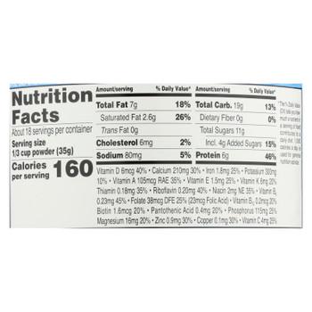 Earth's Best - Tod Formula Milk Pwdr - Case Of 4-21 Oz