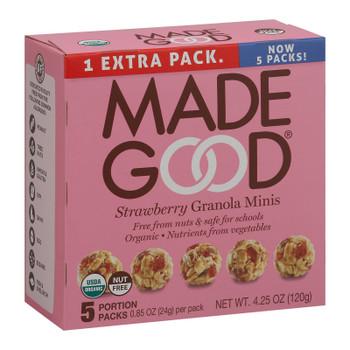 Made Good - Granola Mini Strawberry - Case Of 6-5/.85oz