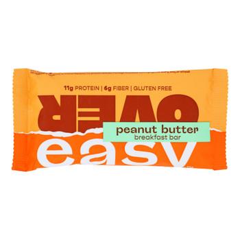 Over Easy - Breakfast Bar Peanut Butter - Case Of 12-1.8 Oz