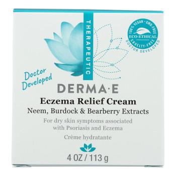 Derma E - Cream Eczema Relief - 1 Each 1-4 Oz