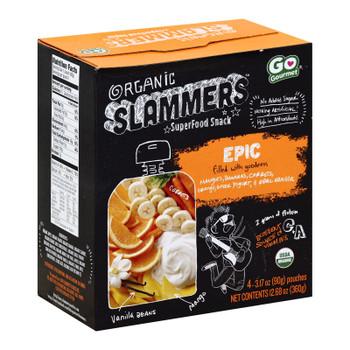 Slammers - Snack Epic Mango & Orange - Case Of 4-3.17 Oz