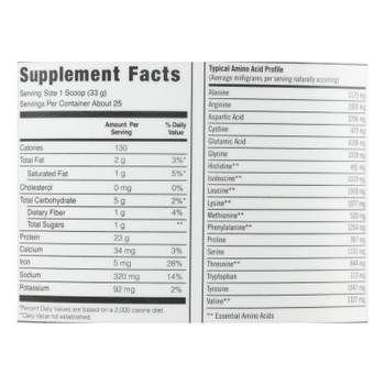 Biosteel - Plant Based Protein Vanilla - 1 Each 1-29 Oz