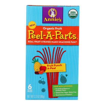 Annie's Homegrown - Fruit Snack - Fruit Punch - Case Of 8 - 3.3 Oz
