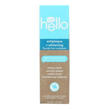 Hello Products Llc - Thpst Antiplq+wht Flrd Fr - Case Of 6-4.7 Oz