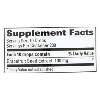 Nutribiotic - Supp Grapefruit Seed Concentrate - 1 Each 1-2 Fz