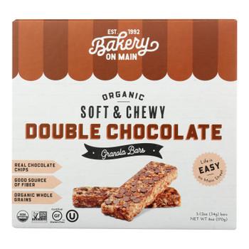 Bakery On Main - Granola Bar Double Chocolate - Case Of 6-5/1.2 Oz