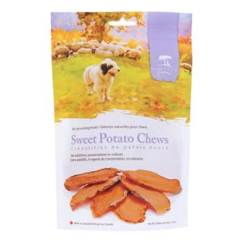 Caledon Farms - Dog Treat Sweet Potato Chew - Case Of 4-9.3 Oz