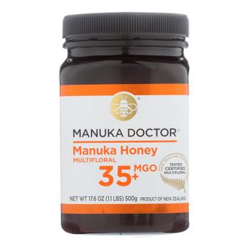 Manuka Doctor - Manuka Honey Mf Mgo35+ 500g - Case Of 6-17.6 Oz