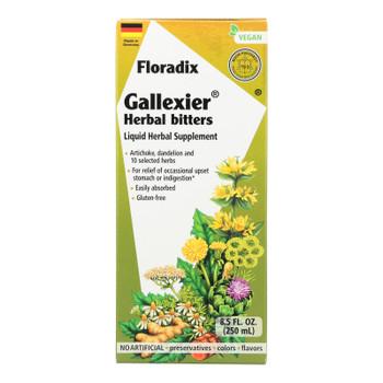 Floradix - Gallexier Herbal Bitters - 1 Each 1-8.5 Fz