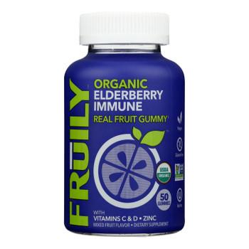 Fruily - Supp Elderberry Immune Gummy - 1 Each 1-50 Ct